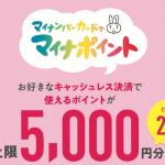 マイナポイント5,000円もらうためにマイナンバーカードを作るのってどうなの?
